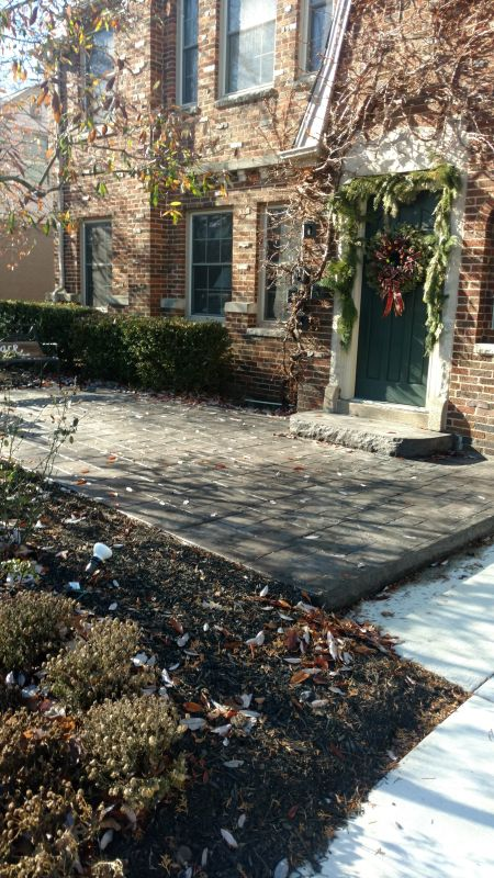 Central Ohio Patio Installation Driveway Expansion 06